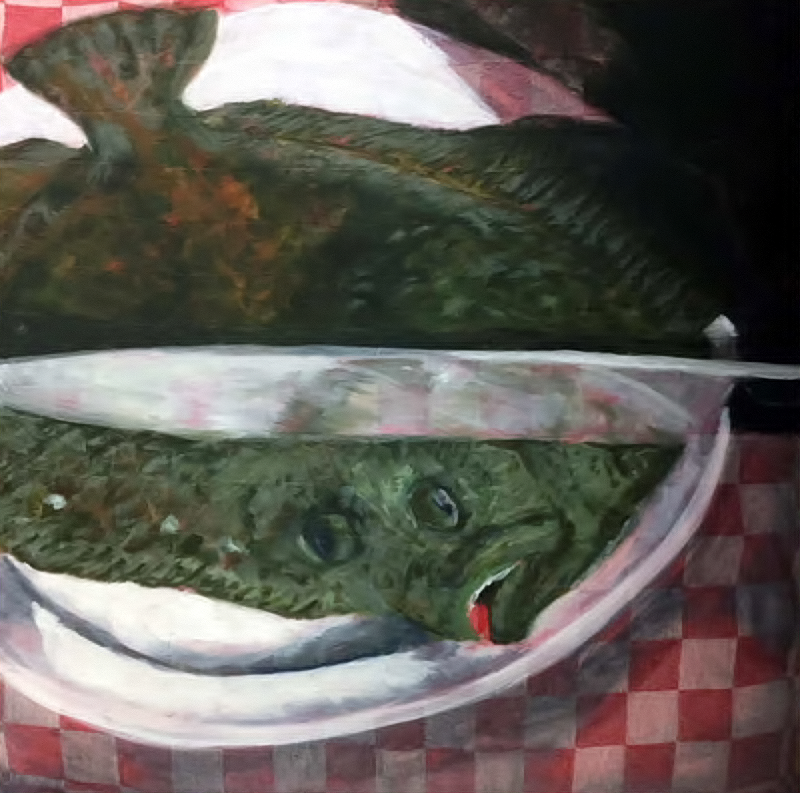 Danger 2018 Oil Canvas 50x50